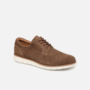Echo Derby Suède : Taupe Toulouse chaussures