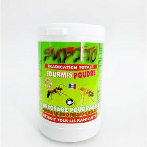Eradication totale fourmis poudre droguerie toulouse