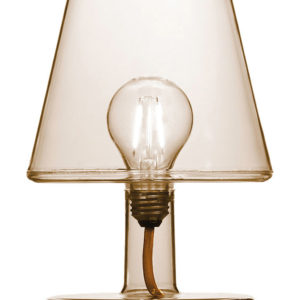 Fatboy Lampe sans fil Transloetje : LED - Ø 16 x H 25 cm Marron