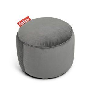 Fatboy Pouf Point velvet / Velours - Ø 50 cm Taupe