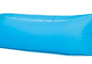 Fatboy Pouf gonflable Lamzac the Original 2.0 - L 200 cm Bleu aqua toulouse