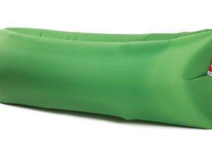 Fatboy Pouf gonflable Lamzac the Original 2.0 - L 200 cm Vert prairie toulouse