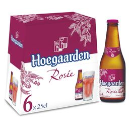 Hoegaarden Rosee 6x25cl Toulouse