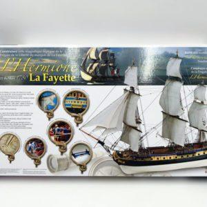Maquette de l'Hermione LaFayette Toulouse modélisme