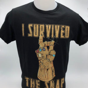 T-shirt I survived the Snap toulouse