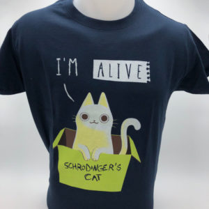 T-shirt Schrodinger's cat