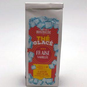 Thé glacé fraise vanillée Toulouse