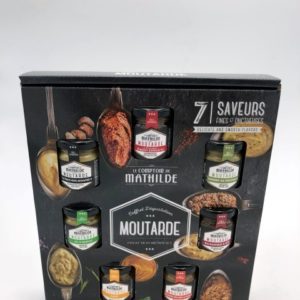 Moutardes Coffret Boutique de Toulouse