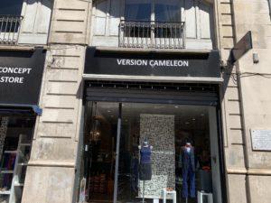 Magasins de vêtements Toulouse version caméléon devanture