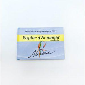 Papier d'arménie Arménie bleu droguerie toulouse
