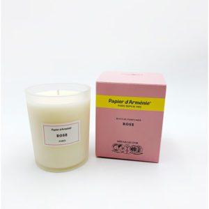 Papier d'arménie bougie parfumée rose droguerie toulouse