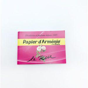 Papier d'arménie la rose droguerie toulouse
