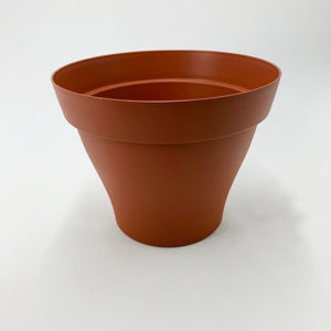 Pot simple marron jardinerie toulouse