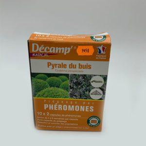 Pyrale du buis pheromones magasin jardinerie toulouse