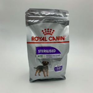 Royal-canin-strerilised-mini chien boutique animalerie toulouse