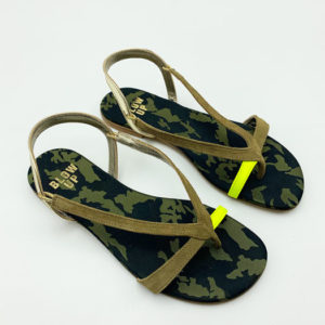 Sandales-Blow-up-militaire-vert magasin chaussures toulouse
