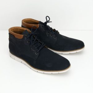 Shaft Mid Nubuck Ciclon : Navy : Camel 2 Toulouse chaussures