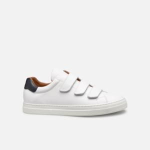 Spark Free Toulouse chaussures Nappa : White : Navy 5