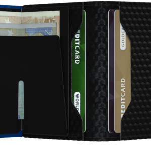 Twinwallet Cubic Black-Blue Boutique de Toulouse