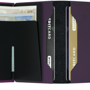 Twinwallet Matte Purple Boutique de Toulouse
