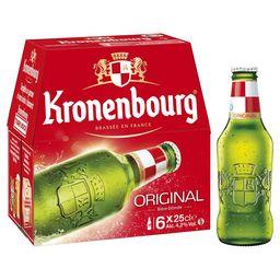 kronenbourg 6x25cl Toulouse