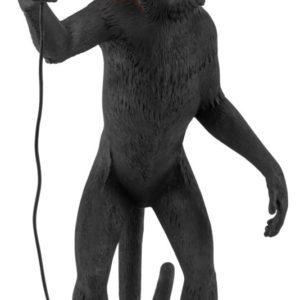 Seletti - Lampe singe debout noir Toulouse Boutiques