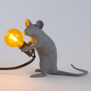 Seletti - lampe souris grise Toulouse Boutiues