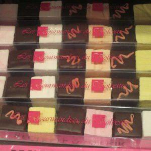 réglette de guimauve enrobée de chocolat Toulouse