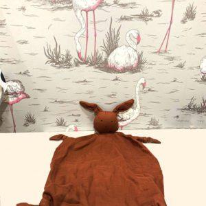 Doudou plat Agnete lapin rouille Liewood Toulouse boutique enfant