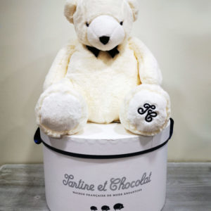 Peluche L'ours Jean Tartines et chocolat Toulouse Boutique Sweet Baby Shop