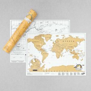 Scratch Map Original travel edition Toulouse Boutiques