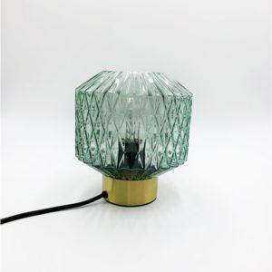 Lampe en verre carré Toulouse luminaire