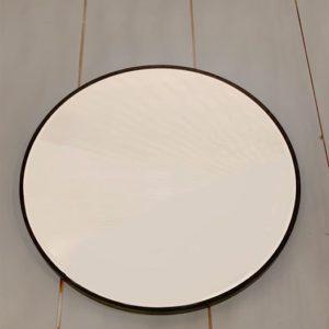 Miroir rond contour bois boutique déco toulouse