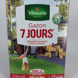 gazon 7 jours Toulouse jardinerie