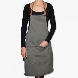 Tablier barbecue vert gris boutique cuisine toulouse