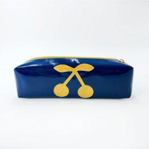 Trousse-bleu-et-cerise-dorée Toulouse
