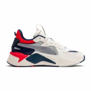 basket puma rs x hard drive blanche rouge