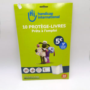 10 Protèges livres handicap international papeterie Toulouse