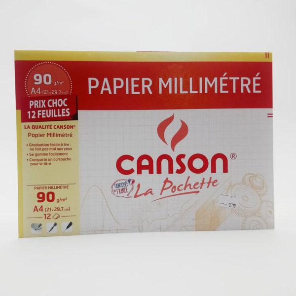 Papier millimétré Toulouse papeterie