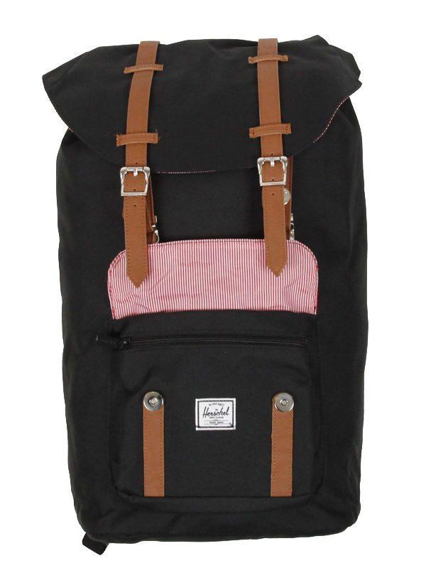 sac à dos Herschel Little America black :tan 4 Toulouse boutique