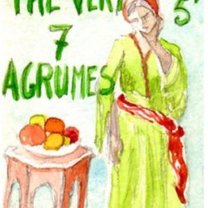Thé vert 7 agrumes Toulouse boutique