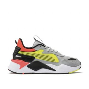 sneakers Toulouse puma rs x hard drive gris jaune