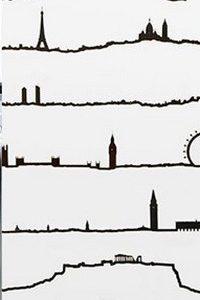 Silhouettes de villes européennes - The Line