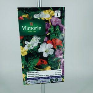 Belle de nuit variée graines Vilmorin au parfait jardinier Toulouse Boutiques.com