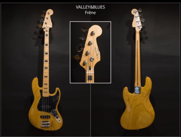 Valley & Blues Jazz Bass ToulouseBotuiques.com