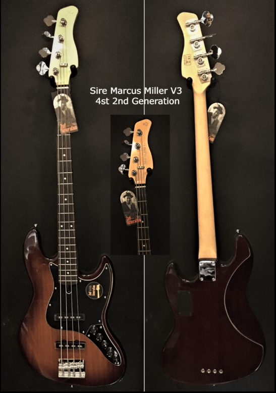 Sire Marcus Miller V3 4st 2nd Generation Valleys & blues ToulouseBoutiques.com