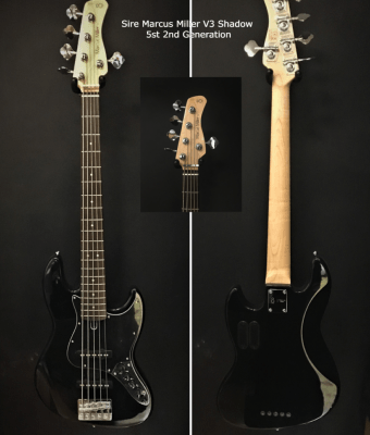 Sire Marcus Miller V3 SHADOW 5st 2nd Generation Valley and blues Toulouse Botuiques.com