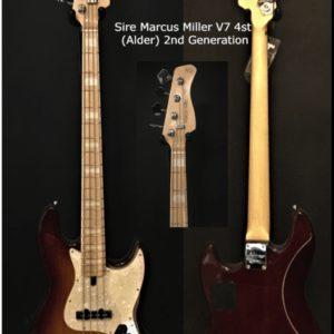 Sire Marcus Miller V7 4st (Alder) 2nd Generation ToulouseBoutiques.com