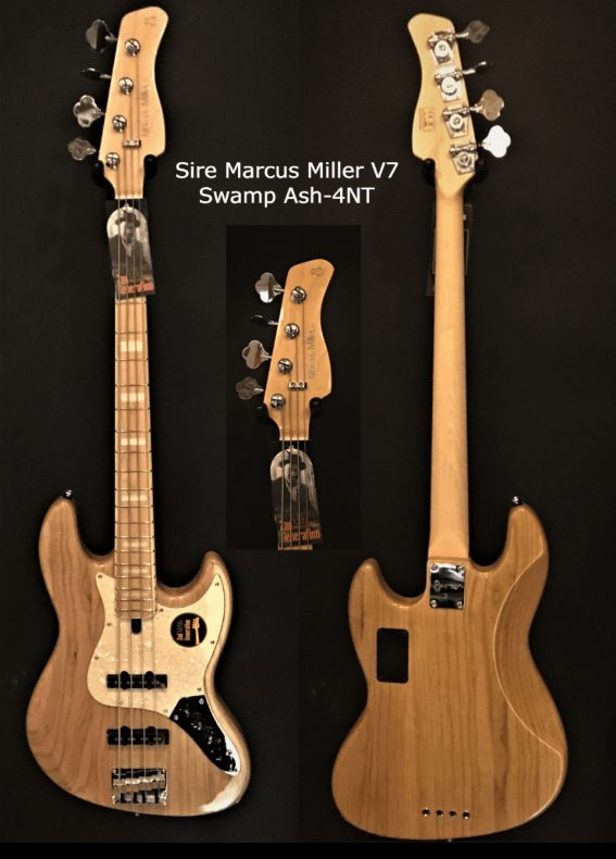 Sire V7 SWAMP ASH-4NT Valley & blues ToulouseBoutiques.com