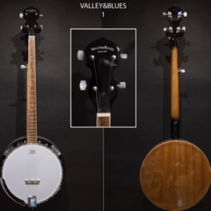 Valley & Blues banjo G405 380 Valley & blues ToulouseBoutiques.com